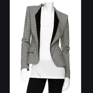 A.L.C. Glen Plaid Blazer Jacket